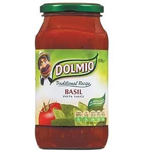 DOLMIO Classic Tomato Pasta Sauce with Basil, 500g