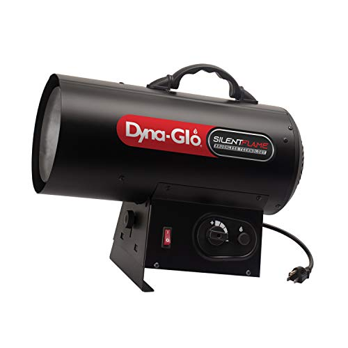 Dyna-Glo 60,000-BTU Quiet Portable Propane Forced Air Heater, Black