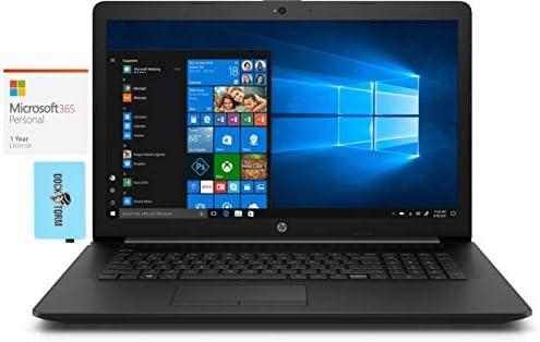 HP – 17z-ca200 Home & Business Laptop (AMD Athlon Gold 3150U 2-Core, 8GB RAM, 2TB HDD, AMD Radeon, 17.3″ HD+ (1600×900), WiFi, Bluetooth, Webcam, Win 10 Home) with MS 365 Personal, Hub