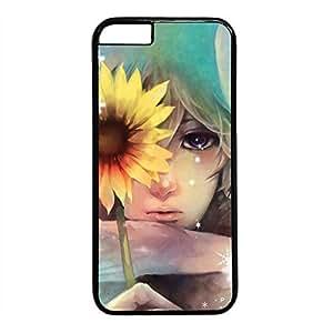 New Fashion Case Anime Girl iPhone 5c case cover, doppyu Customized Hard Back Cover Snap bdawEcWqjoA on case cover for iPhone 5c Painting Style 02
