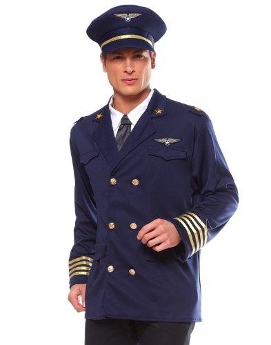 Popular Mens Costumes (Franco American Novelty 49602 Pilot Jacket Costume - Standard)