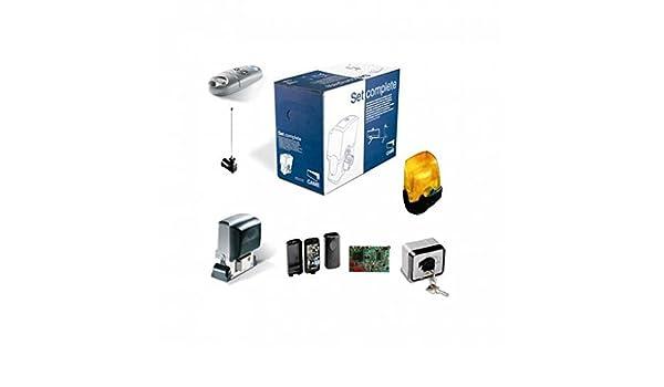 Kit AUTOMAZIONE Puerta Corredera Came u2910 a 220 V: Amazon.es: Electrónica
