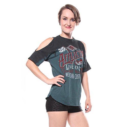 da donna Affliction shirt T Fast Live pnqIUB