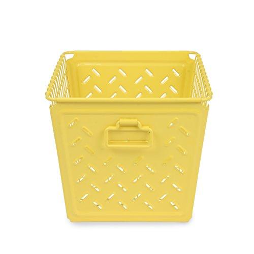 Spectrum Diversified Macklin Basket, Medium, Yellow