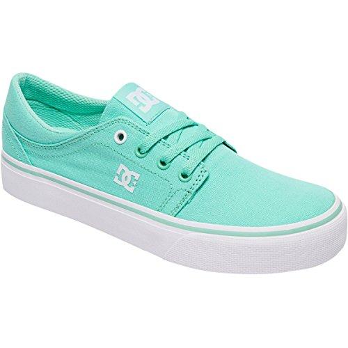 DC Womens Trase TX Skate Shoe Mint Z6QV6w