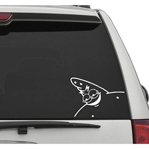 Seek Racing Patrick Meme Decal CAR Truck Window Bumper Sticker Funny Spongebob