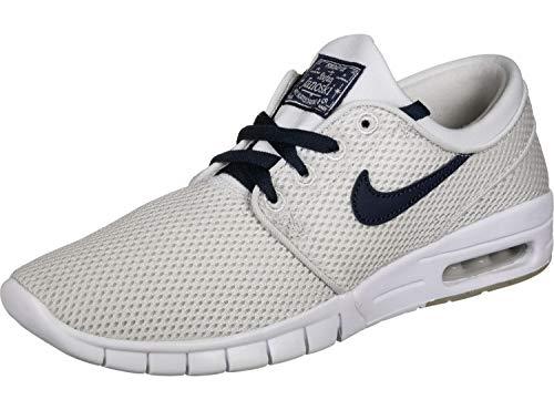 (Nike SB Stefan Janoski Max Men's Shoes (9 D(M) US, Vast Grey/Obsidian White))