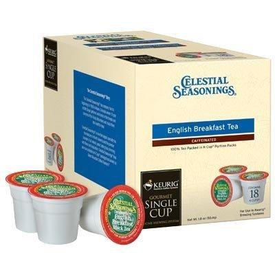 Celestial Seasonings English Breakfast Black Tea Keurig K-Cups, 108 Count by Celestial Seasonings