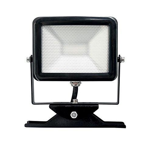 10 opinioni per Electraline 63505 Proiettore Faretto Slim da Esterno, IP65 a LED con Staffa,