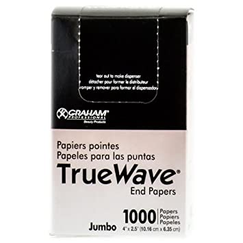 Graham Professional True Wave End Papers - 1000 Count