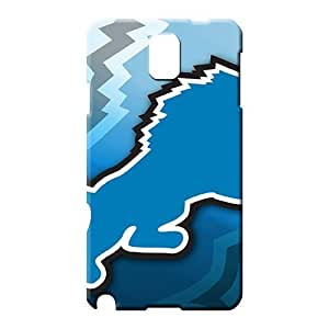 samsung note 3 Brand Snap For phone Cases phone case cover detroit lions nfl