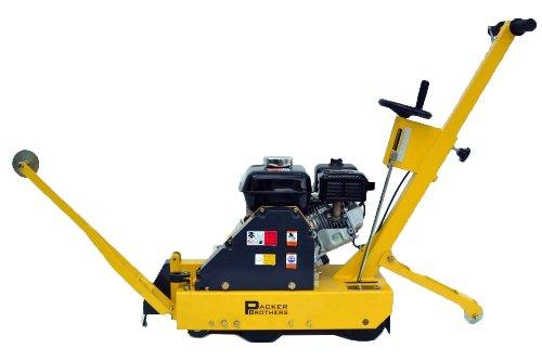 Packer Bros PB80-Slab Saw Green Cut Concrete Saw, 5.5 hp Honda Gas Powered Motor, 10