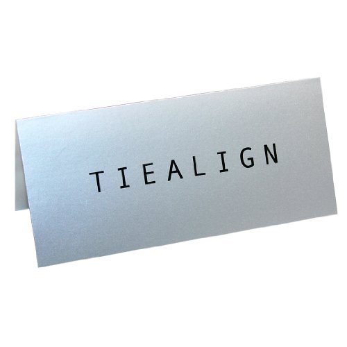 TIEALIGN 5 Pack - Invisible Tie Stays Made in the U.S.A.