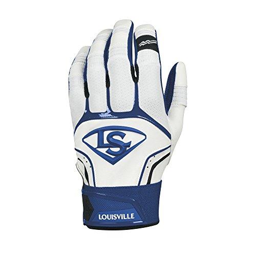 Louisville Slugger Prime Adult Batting Gloves - Large, Navy