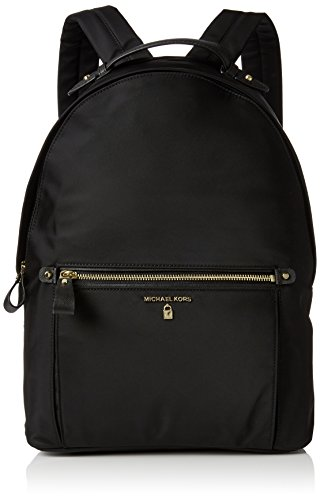 Michael Kors Women Nylon Kelsey Backpack Handbag, Black (Black) (Michael Kors Flache)