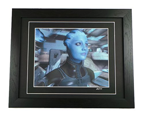 Mass Effect Limited Edition Liara Art Print Framed by artcandi