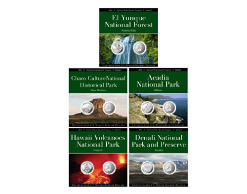 2012 National Park Quarter Collection Annual Pack Set Uncirculated
