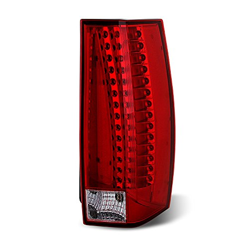 ACANII - For 2007-2014 Cadillac Escalade ESV LED Rear Replacement Tail Light - Passenger Side Only