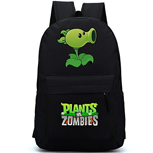 Price comparison product image 2015 New Plants Vs Zombies Primary and Secondary School Students Schoolbag Shoulder Backpack (Peashooter)