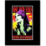 NINE INCH NAILS - Seattle Centrer Arena 1994 Matted Mini Poster - 26.4x16.5cm