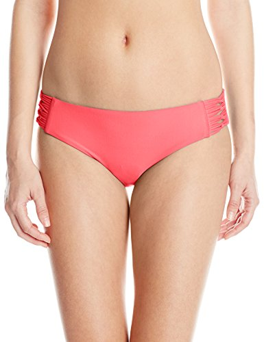 Body Glove Women's Smoothies Ruby Bikini Bottom, Diva, M