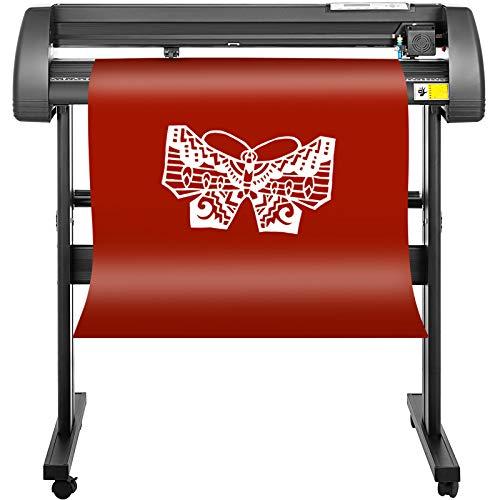 Mophorn Vinyl Cutter 28 Inch Vinyl Cutter Machine 720mm Vinyl Printer Cutter Machine LCD Display Vinyl Plotter Cutter Machine Signmaster Software Sign Making Machine with Stand by Mophorn (Image #2)