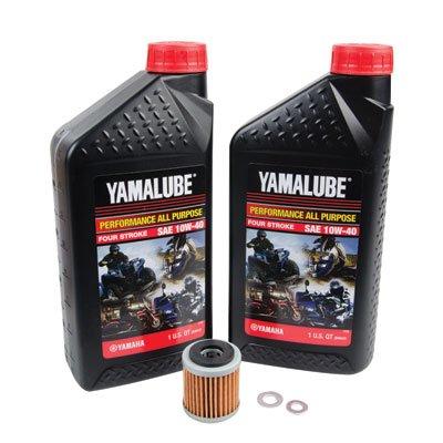 Tusk 4-Stroke Oil Change Kit Yamalube All Purpose 10W-40 - Fits: Yamaha YFZ  450 2004-2005