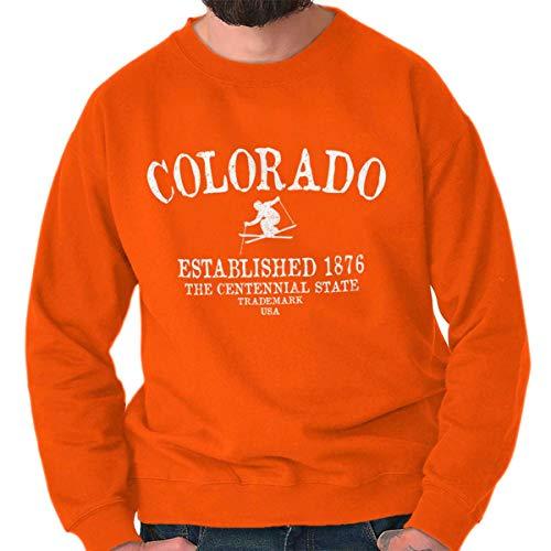- Classic Teaze Colorado State - Trademark Printed Crewneck Sweatshirt