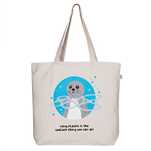 Canvas Grocery Bags Printed - 2
