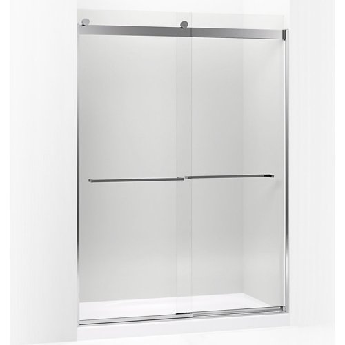 Levity Rear Sliding Glass Panel and Assembly Kit for Shower Door ()