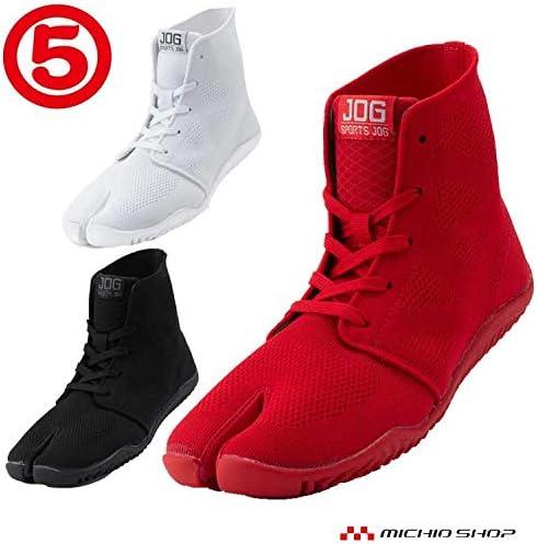 [丸五] 足袋型スニーカー [スポーツジョグII] 祭り足袋 地下足袋 25.5 ホワイト