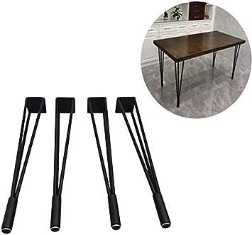 AZWE Patas modernas de 4 piezas para muebles y mesas de centro ...