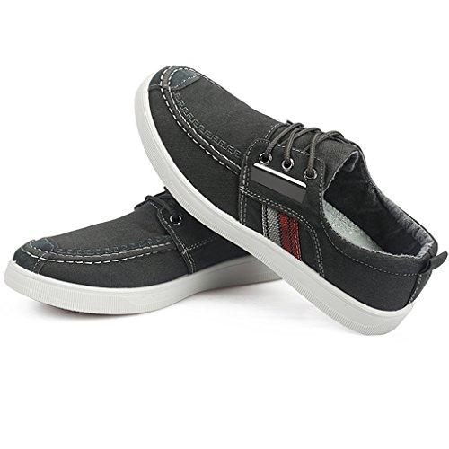 scarpe selvaggia basse di da Gray uomo scarpe basse uomo Espadrillas uomo Color uomo da traspirante tela da da YaNanHome di tendenza 43 Scarpe scarpe casuali casual scarpe Size scarpe Scarpe Gray U7x4nYwq