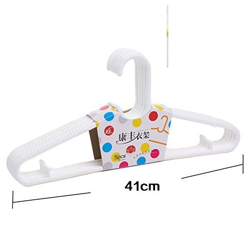 plastic hanger/ clothes prop/Non-slip hanger/Adult hangers/Clotheshorse seamless clothing (Adult Storea)