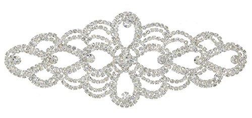Crystal Diamante Rhinestone Applique Embellishments product image