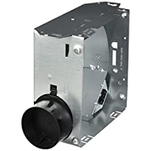 Broan 1667H Housing Pack for 1670F, 1671F, 1688F and 1689F (damper/plastic duct connector included)