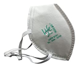 Life Mask® N95 Flat Fold Face Mask, 4-layer Filter Respirator (5-pack) Individually Wrapped