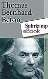 Beton (suhrkamp taschenbuch)