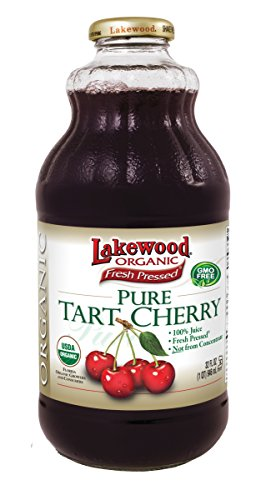 Lakewood Organic Pure Tart Cherry, 32 Ounce (Pack of 6) (Lakewood Tart Cherry Juice compare prices)