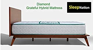 product image for Grateful Hybrid Mattress and Standard Adjustable Base (Twin XL, Firm)