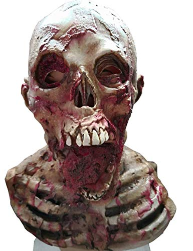 Halloween Horror Mask Zombie Masks Party Cosplay Bloody Disgusting Rot Face Scary Masque Masquerade Mascara Terror Masker Latex -