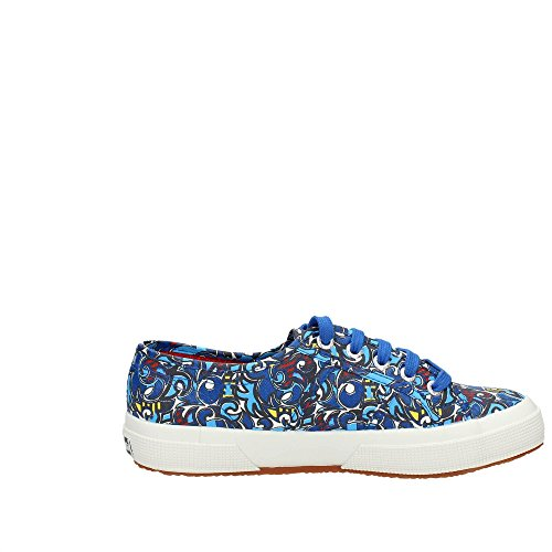 Eu Cotu Superga Baskets Femme blue 36 Fantasy 2750 Blue Puzzle UU1wqgz6x