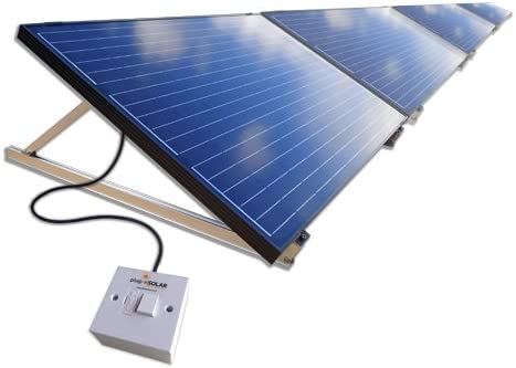 Plug In Solar 1kw 1000w Diy Solar Power Kit With Adjustable Ground Mounts Amazon Co Uk Kitchen Home