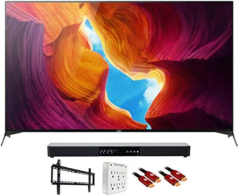 "Sony XBR65X950H 65"" X950H 4K Ultra HD LED TV (2020) with Deco Gear Soundbar Bundle"