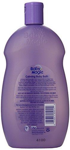 Baby Magic Calming Baby Bath 16.5oz Lavender And Chamomil...