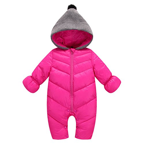 Baby Rompers Hoodie C Ahatech Oto Invierno Suit o vqwcFURFp