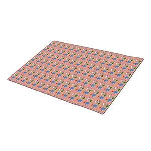 MaRed Monogrammed Door Mat Purple Blank Indoor Mats