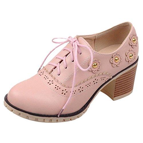 Coolcept Zapatos de Primavera para Mujer Pink