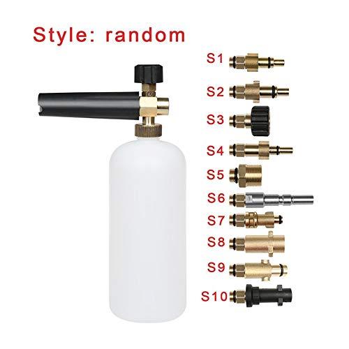 Foam Lance Pressure Washer Soap Bottle Gun for Karcher Bosch Lavor Nilfisk Kit White