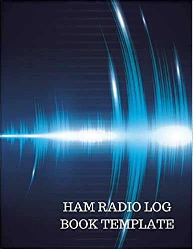 ham radio log book template journals for all 9781520866840 amazon